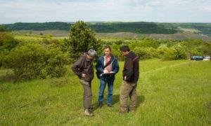 Fachgespräch mit Vertretern des Forstamtes Saarburg