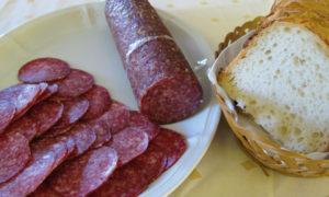 Salami aus Galloway-Fleisch